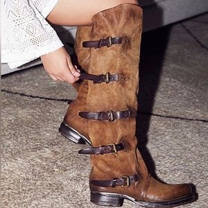 HP! Free People AS 98 Tatum suede otk boots